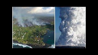 Hawaii volcano update LIVE: Kilauea eruption latest lava map - Guatemala death toll grows