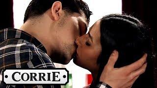 Coronation Street - Alya Kisses Josh Then Takes him to Bed