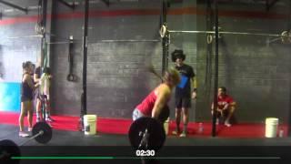 Kara Webb 16.3 at CrossFit Roar