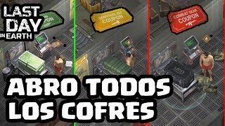ABRO TODOS LOS COFRES DEL BUNKER ALFA | LAST DAY ON EARTH | [El Chicha]