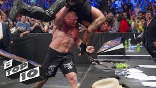 Big men breaking tables: WWE Top 10, Dec. 18, 2017