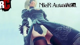 NieR Automata - Look under 2B's Skirt (What are you doing? Trophy Guide)