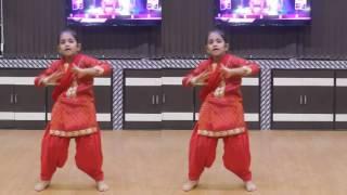 Little Punjabi Girl Dancing on Tutak Tutak Tutiya Song