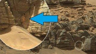 Tutup Mata Anda!  5 Penampakan Aneh di Planet Mars yang Tertangkap oleh NASA