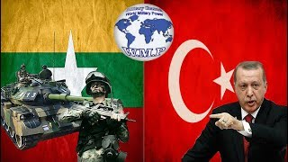 Myanmar VS Turkey Military Power Comparison 2017