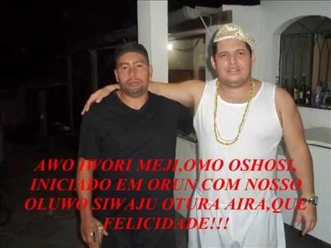 Culto de Orun egum IFÁ no ile de meu Oluwo Siwayu Evandro Otura Aira RJ Brasil