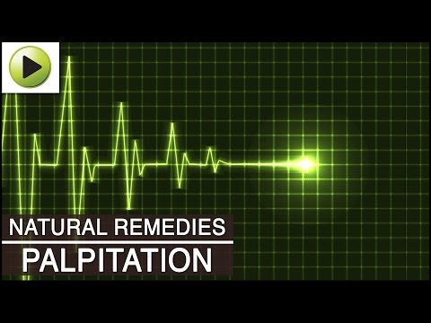 Palpitation - Natural Ayurvedic Home Remedies