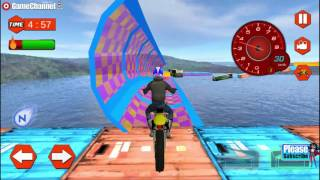 Extreme Bike Stunts Mania / Motor Games / Android Gameplay Video FHD