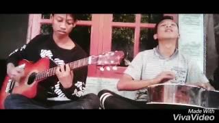 Cover Guitar Stand Here Alone_wanita Masih Banyak Yang Menunggu_Aode Feat Andrian