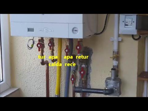 Video Instalare Centrala Termica La Bloc. Viessmann.