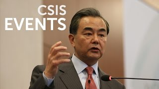 Statesmen's Forum: Wang Yi, Minister of Foreign Affairs, PRC