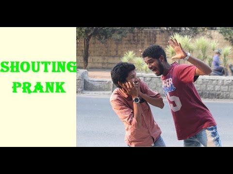 Shouting Prank In India (Hyderabad)
