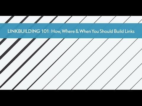 LINKBUILDING 101 -   The Art Of Link Velocity