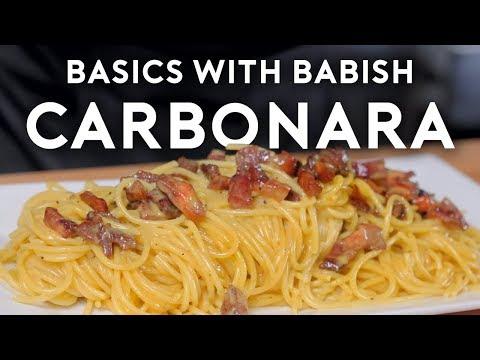 Carbonara Basics with Babish