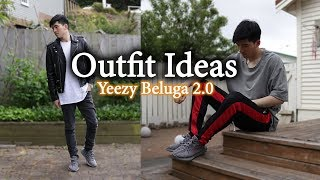 Outfit Ideas w/ Yeezy 350 V2 Beluga 2.0   Men's Lookbook With Yeezys