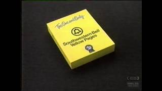 Southwestern Bell Yellow Pages | Television Commercial | 1988
