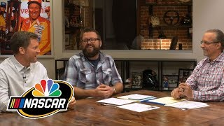 Dale Jr. describes how NASCAR drivers talk to others after causing wreck I NASCAR I NBC Sports