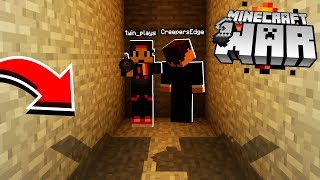 Inside a HOSTILE Minecraft BASE.. with no ESCAPE! (sad)