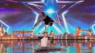 Britain's Got Talent 2016 S10E04 Sam & Hector Child Hand Balancers Full Audition