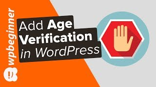 How to Add Age Verification to Your SIte in WordPress