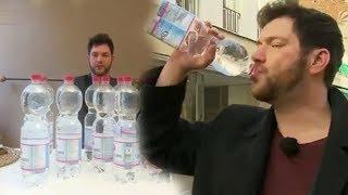 لماذا يضطر هذا الرجل لشرب 20 لتر ماء يوميا .. !؟