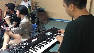 I Knew I Loved You cover by Music Hero