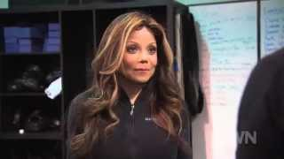 A.J. Draven Trains Latoya Jackson In Krav Maga On OWN For Life With Latoya