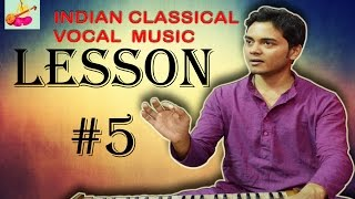 Learn+Indian+classical+music+vocal+singing+Lesson+%235
