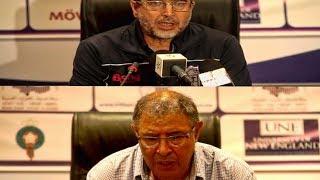 الندوة الصحفية للمقابلة : اتحاد طنجة & الجيش الملكي IRT // FAR