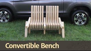 266 - Convertible Bench