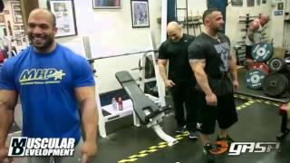 Delarosa & Cisternino Catch a Delt Workout in Pittsburgh  2013