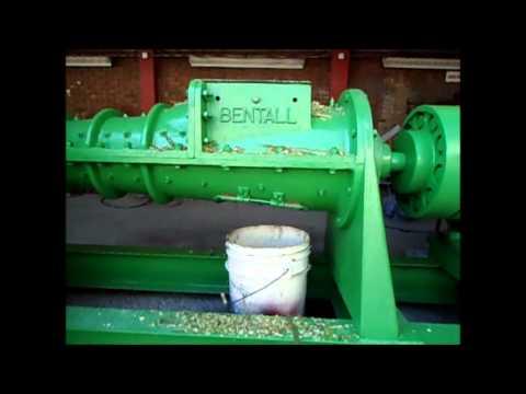 Deshidratadora extrusora de pastos y forrajes