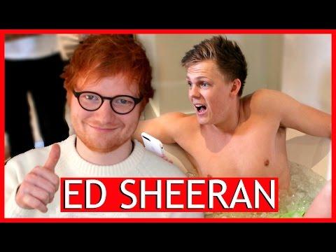 Ed Sheeran - BRAIN FREEZE CHALLENGE