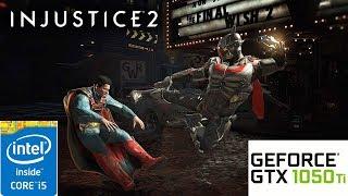 Injustice 2: GTX 1050 TI 4GB i5 4460