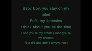 Beyonce ft. Sean Paul- Baby boy (Lyrics on screen)
