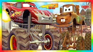 CARS 3 2 1 --- NEDERLANDS MINI FILM --- 6 van 6 --- Lightning McQueen & Mater & Vrienden
