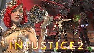 Injustice 2: Partidas online com a Hera Venenosa (Poison Ivy online matches)