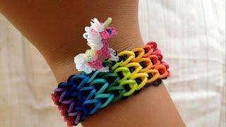 Unicorn Rainbow Loom Nederlands, armband