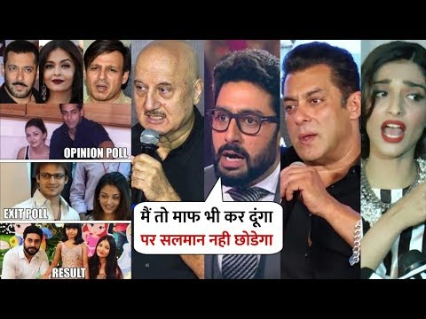 Xxx Mp4 Bollywood Celebs Reaction On Vivek Oberoi Tweet About Aishwarya Rai Salman Khan Anupam Kher 3gp Sex