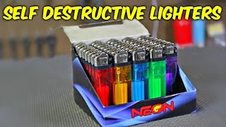 Self Destructive Lighters (DON