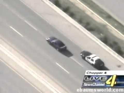 美國公路騎警 攔截野馬跑車 不看會後悔