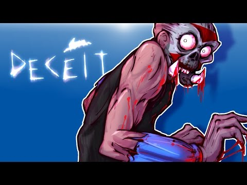 Deceit Multiplayer - I'M NOT THE MONSTER!!!! OR AM I? (6 Player fun!)