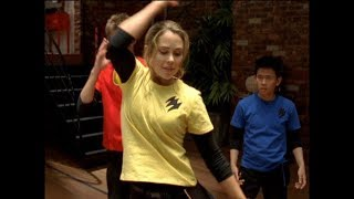 Power Rangers Jungle Fury - Dance the Night Away - Lily's Dance Lesson | Song (Episode 6)