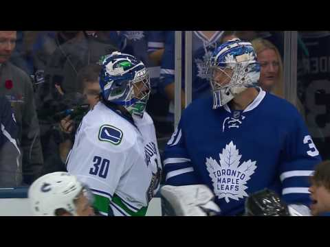 Gotta See It All hell breaks loose between the Canucks and Maple Leafs