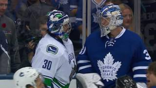 Gotta See It: All hell breaks loose between the Canucks and Maple Leafs