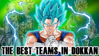THE BEST TEAMS IN DOKKAN - GLOBAL VERSION | DRAGON BALL Z DOKKAN BATTLE