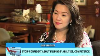 Sycip confident about Pinoys' abilities, competence