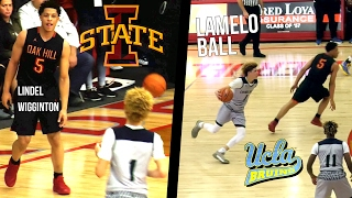 LaMelo Ball 36 Points VS OAK HILL! Battles With Iowa State Bound Lindell Wigginton