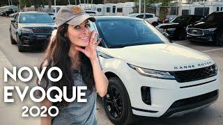 Conheça o NOVO Range Rover EVOQUE 2020 vendido nos EUA