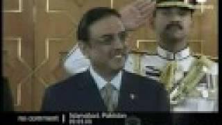 Pakistan new President Zardari.